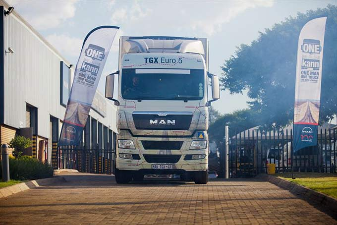 One Man Kann Journey Sets Precedent For Future Truck Marketing