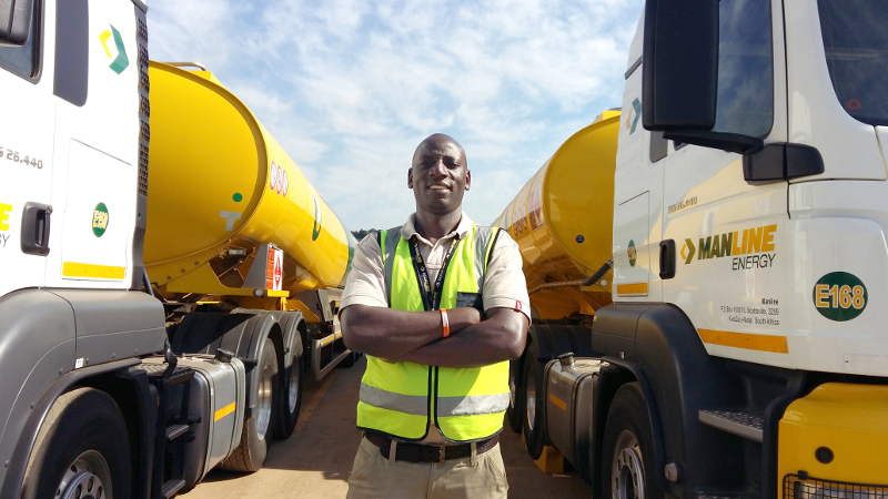 Trucker Nduna Chari is the Man