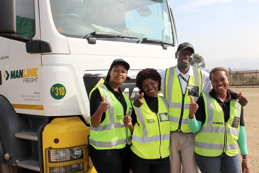 Female learner truck drivers raring to go